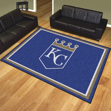 Picture of MLB - Kansas City Royals 8'x10' Plush Rug