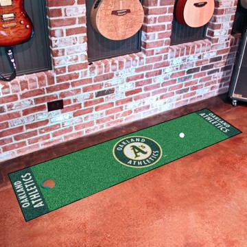 Picture of MLB - Oakland Athletics Putting Green Mat