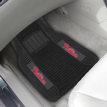 Picture of MLB - Philadelphia Phillies Deluxe Car Mat Set
