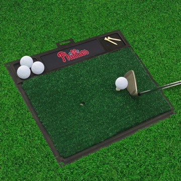 Picture of MLB - Philadelphia Phillies Golf Hitting Mat