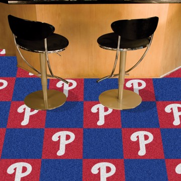 Picture of MLB - Philadelphia Phillies Team Carpet Tiles