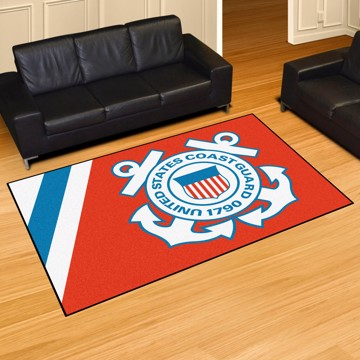 Picture of U.S. Coast Guard 5'x8' Plush Rug