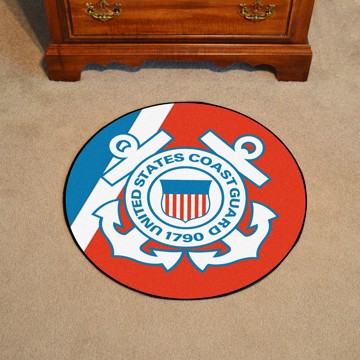 Picture of U.S. Coast Guard Round Mat