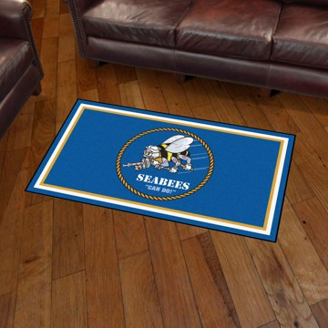 Picture of U.S. Navy - Seabees 3'x5' Plush Rug