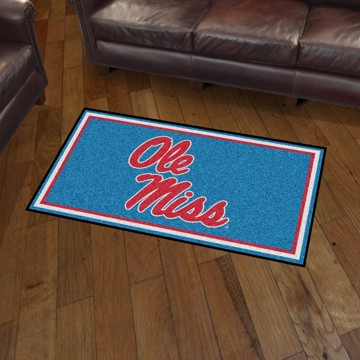 Picture of Ole Miss 3'x5' Plush Rug