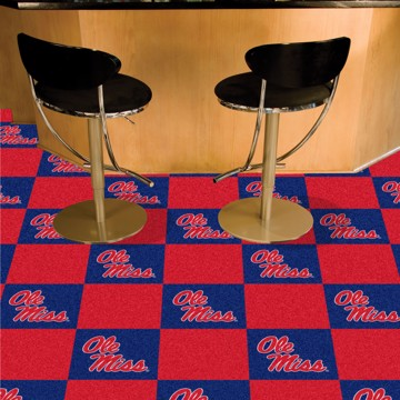 Picture of Ole Miss Team Carpet Tiles