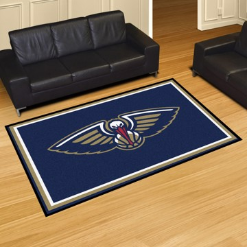 Picture of NBA - New Orleans Pelicans 5'x8' Plush Rug