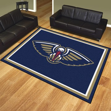 Picture of NBA - New Orleans Pelicans 8'x10' Plush Rug
