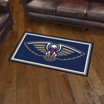 Picture of NBA - New Orleans Pelicans 3'x5' Plush Rug