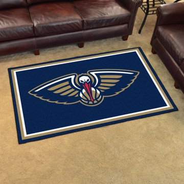 Picture of NBA - New Orleans Pelicans 4'x6' Plush Rug