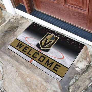 Picture of NHL - Vegas Golden Knights Crumb Rubber Door Mat