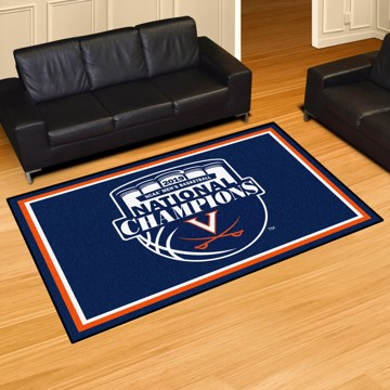Picture of Virginia 2019 Basketball Champions 5x8 Plush Rug