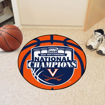 Picture of Virginia 2019 NCAA Men's Basketball Champions Basketball Mat
