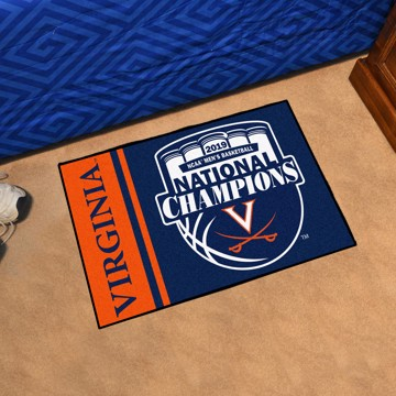 Picture of Virginia 2019 NCAA Men's Basketball Champions Starter Mat