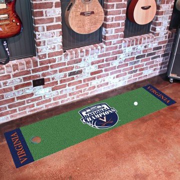 Picture of Virginia 2019 NCAA Men's Basketball Champions Putting Green Mat