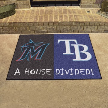 Picture of MLB House Divided - Marlins / Rays