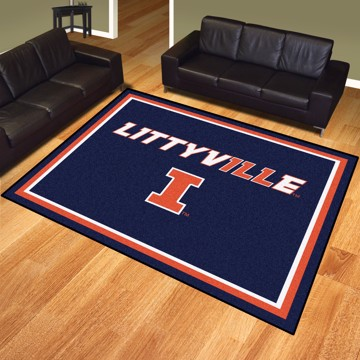 Picture of Illinois 8'x10' Plush Rug - Littyville