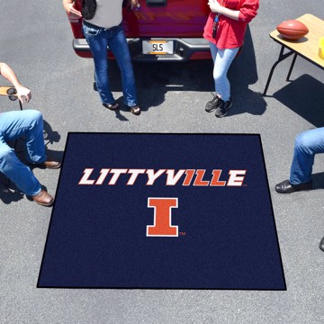Picture of Illinois Tailgater Mat - Littyville