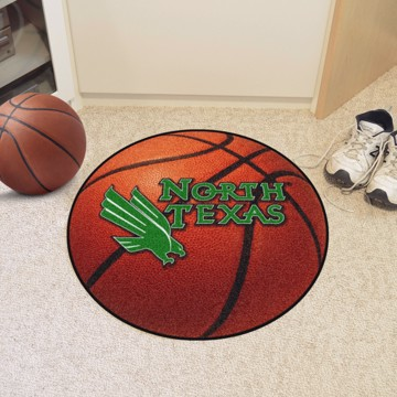 Picture of North Texas Basketball Mat