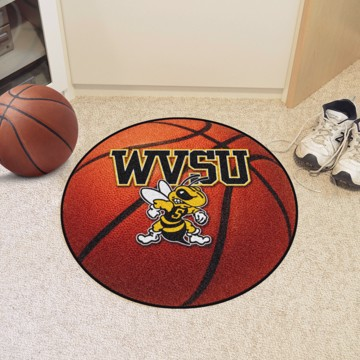 Picture of West Virginia State Basketball Mat