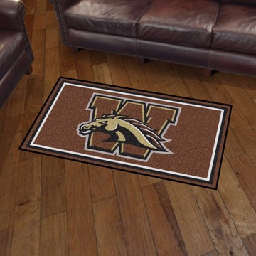 Picture of Western Michigan 3'x5' Plush Rug