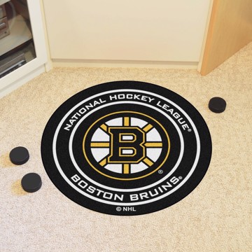 Picture of NHL - Boston Bruins Puck Mat