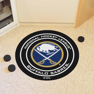 Picture of NHL - Buffalo Sabres Puck Mat