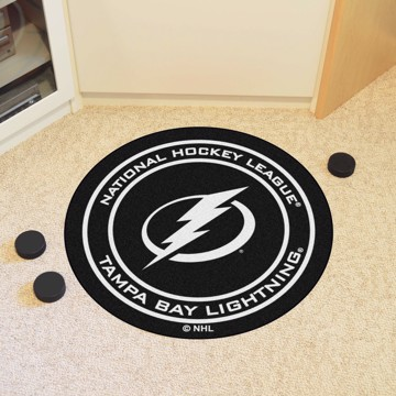 Picture of NHL - Tampa Bay Lightning Puck Mat