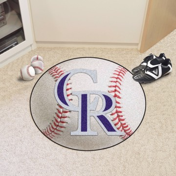 Picture of MLB - Colorado Rockies Baseball Mat