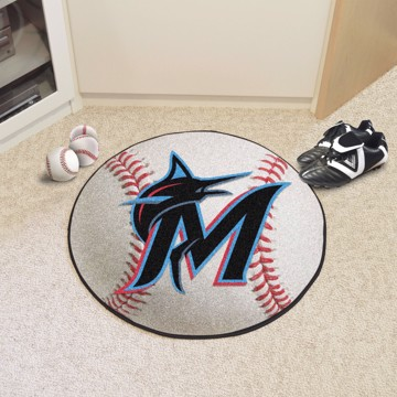 Picture of MLB - Miami Marlins Baseball Mat