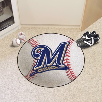 Picture of MLB - Milwaukee Brewers Baseball Mat