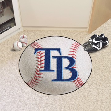 Picture of MLB - Tampa Bay Rays Baseball Mat