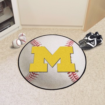 Picture of Michigan Baseball Mat