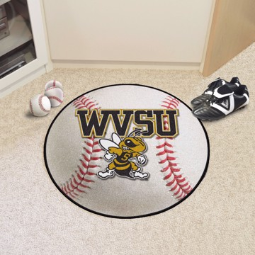 Picture of West Virginia State Baseball Mat