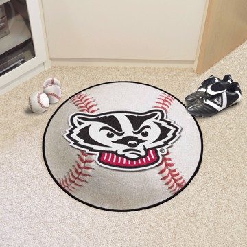 Picture of Wisconsin Baseball Mat