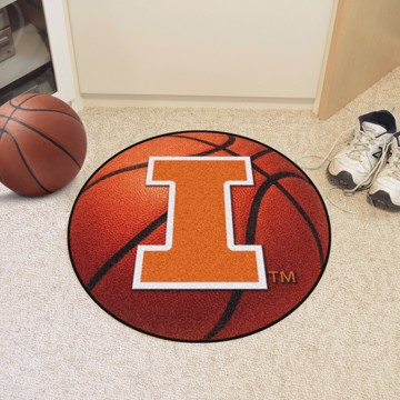 Picture of Illinois Basketball Mat