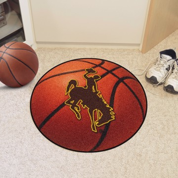 Picture of Wyoming Basketball Mat