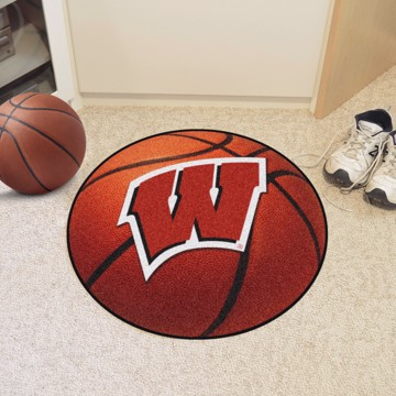 Picture of Wisconsin Basketball Mat