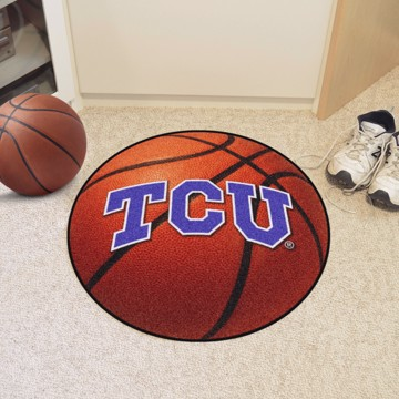 Picture of TCU Basketball Mat