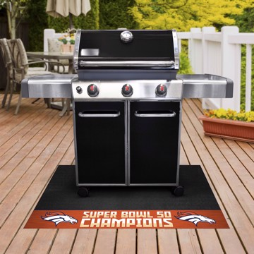 Picture of NFL - Denver Broncos Super Bowl L Champions Grill Mat