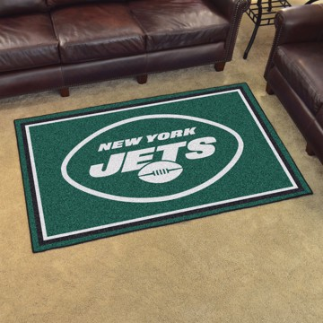 Picture of NFL - New York Jets 4'x6' Plush Rug