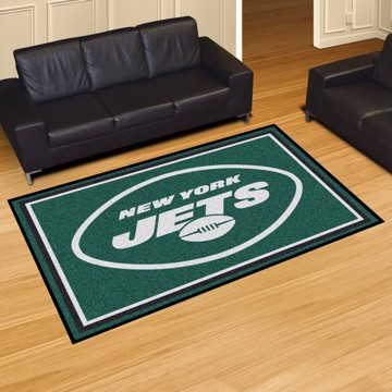 Picture of NFL - New York Jets 5'x8' Plush Rug