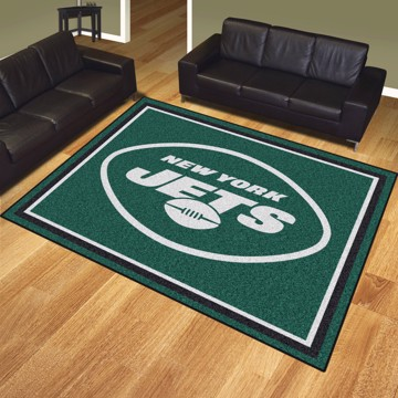Picture of NFL - New York Jets 8'x10' Plush Rug