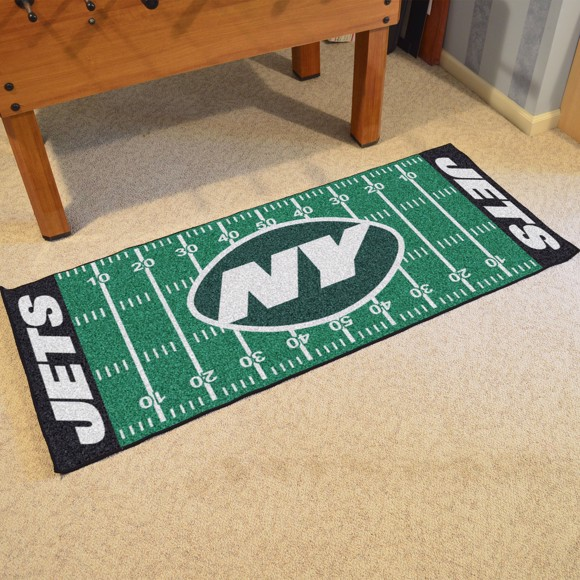 121f9054 NFL - New York Jets Football Field Runner