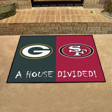 Picture of House Divided Mat