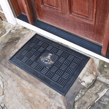 Picture of NHL - St. Louis Blues 2019 Stanley Cup Champions Medallion Door Mat