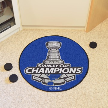 Picture of NHL - St. Louis Blues 2019 Stanley Cup Champions Hockey Puck Mat