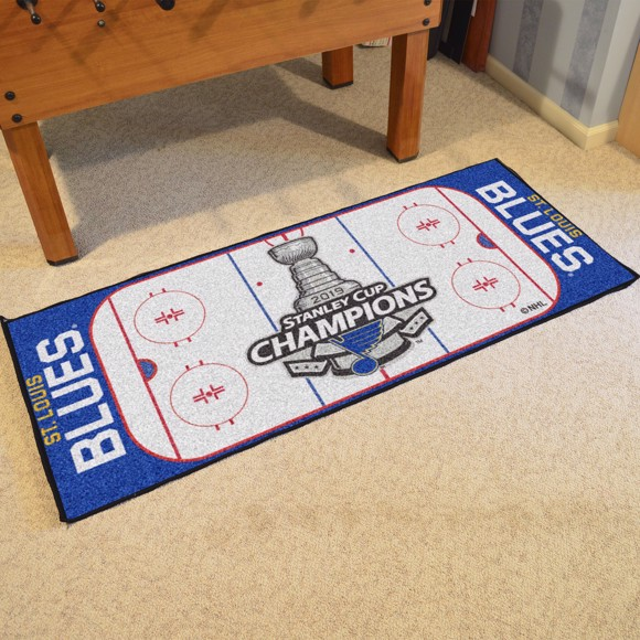 Picture of NHL - St. Louis Blues 2019 Stanley Cup Champions Rink Runner