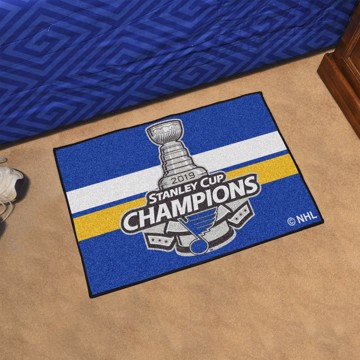 Picture of NHL - St. Louis Blues 2019 Stanley Cup Champions Starter Mat
