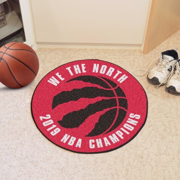 Picture of NBA - Toronto Raptors 2019 NBA Finals Champions Basketball Mat